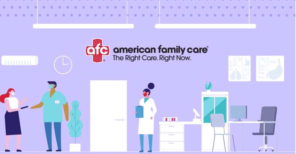 AFC video intelligent chat for healthcare