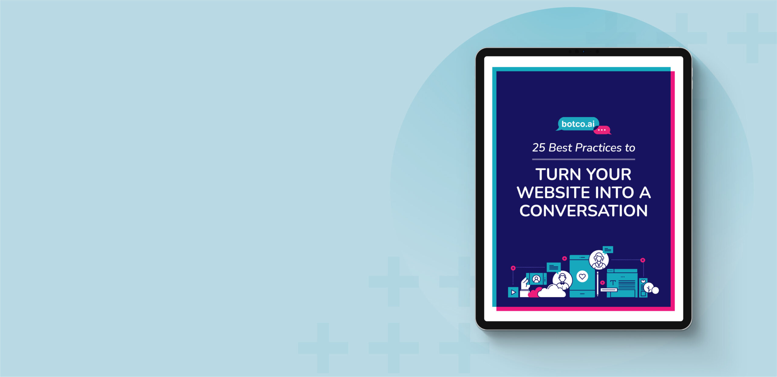 25 Best Practices eBook Cover on Blue Background