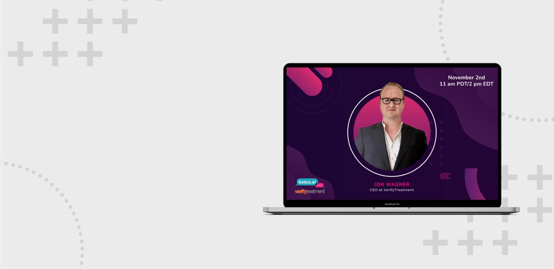 Verify Treatment webinar promotion