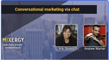 Interview with Anu Shukla on Conversational marketing via chat